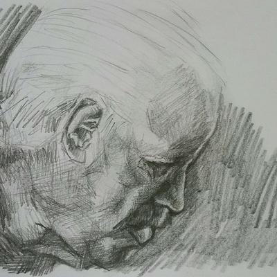 'Armando' (14.8 x 21 cm, graphite pencil on 200 gms paper)