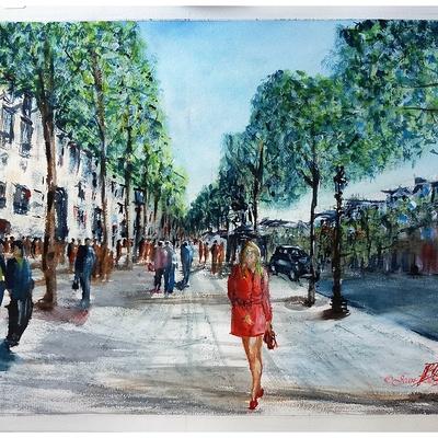 ''Aux Champs Elysées...''