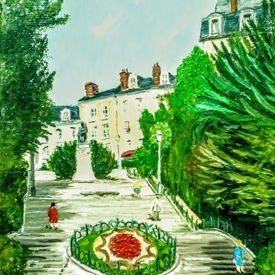 Blois escalier Denis Papin