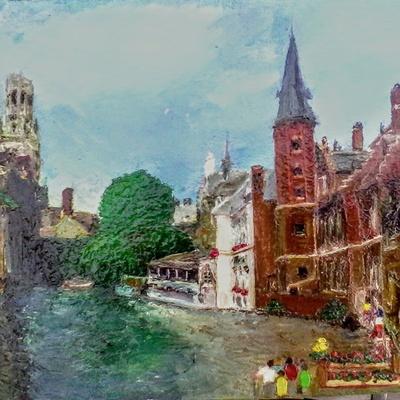 Bruges Quai du Rosaire