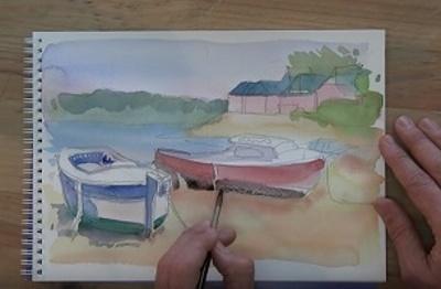 Comment peindre votre première aquarelle ?
