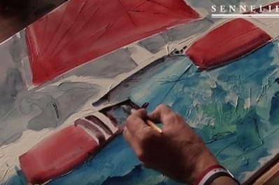 Comment travailler l'aquarelle en relief ?