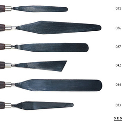 Couteaux à palette