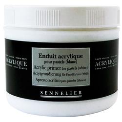 Enduit acrylique pour pastels (blanc)