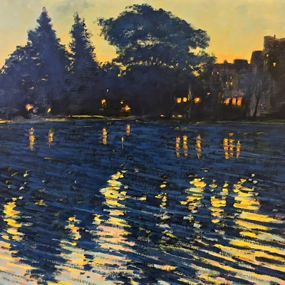 Painting In Bois de Boulogne<br>