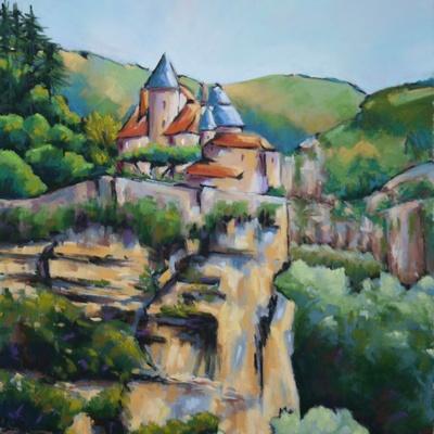 Piton rocheux en Dordogne