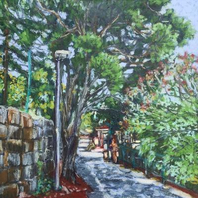 Promenade to Hotel Croatia in Cavtat