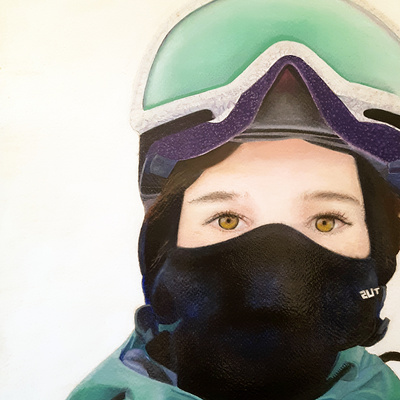 ski bum Katie