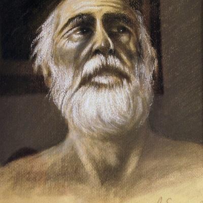 A study for Saint Gerolamo