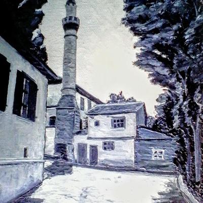 Vieil Ankara minaret