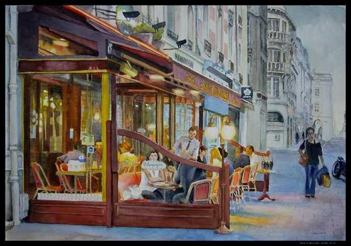Reims, le café du Palais 0