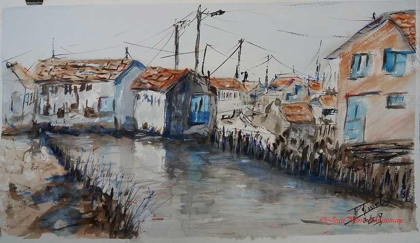 ''Maisons de pêcheurs en Vendée'' 0