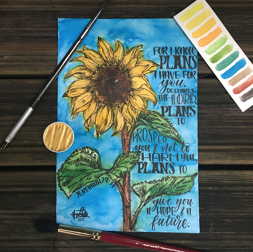 Golden Sunflower 0