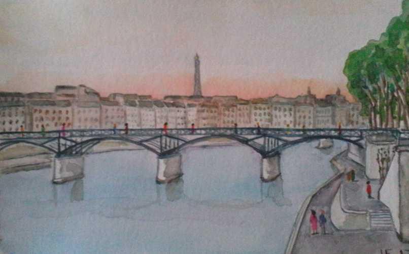 Pont des Arts Paris 0