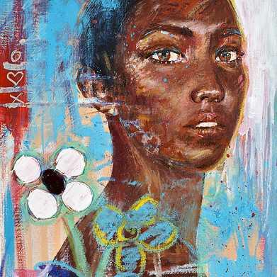 chocolate, oil, oil sticks, oil pastel, pencil on paper, 24x30cm 2018