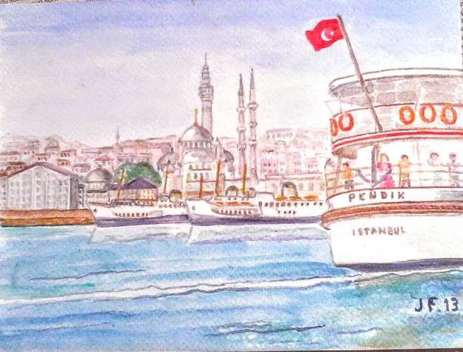 Istanbul Bosphore 0