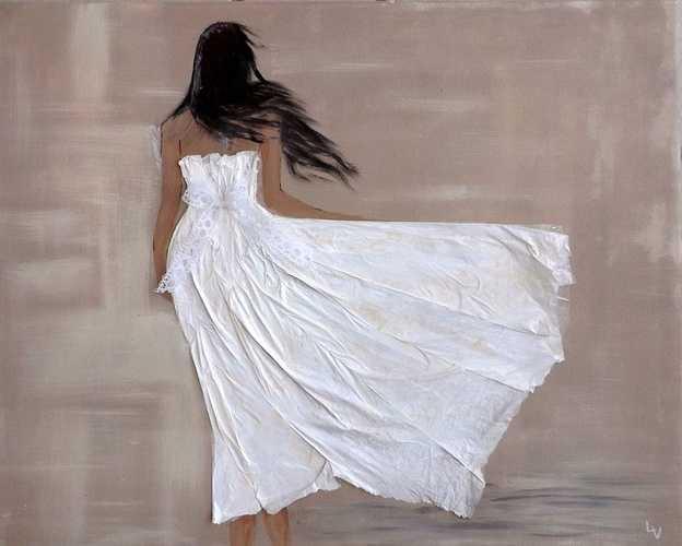 Fille à la robe blanche 0