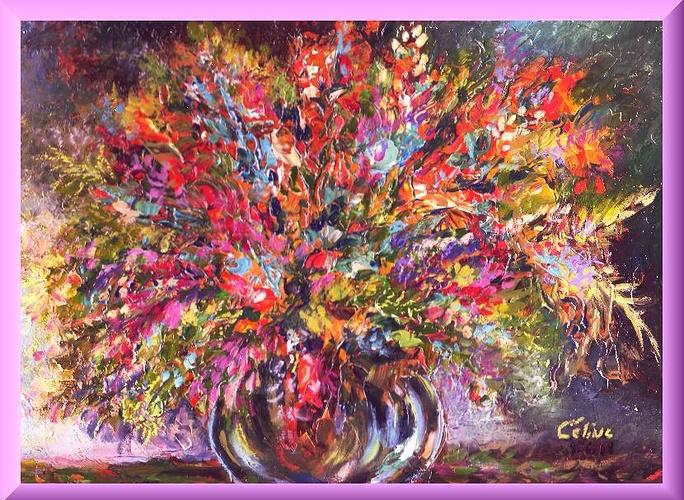 Feu d'artifice floral 0