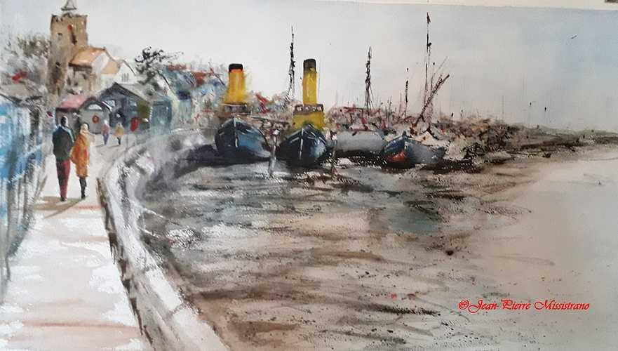 ''Le port anglais'' 0