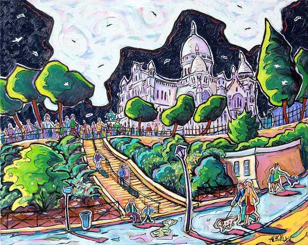 Montmartre, le Sacré-Cœur 0