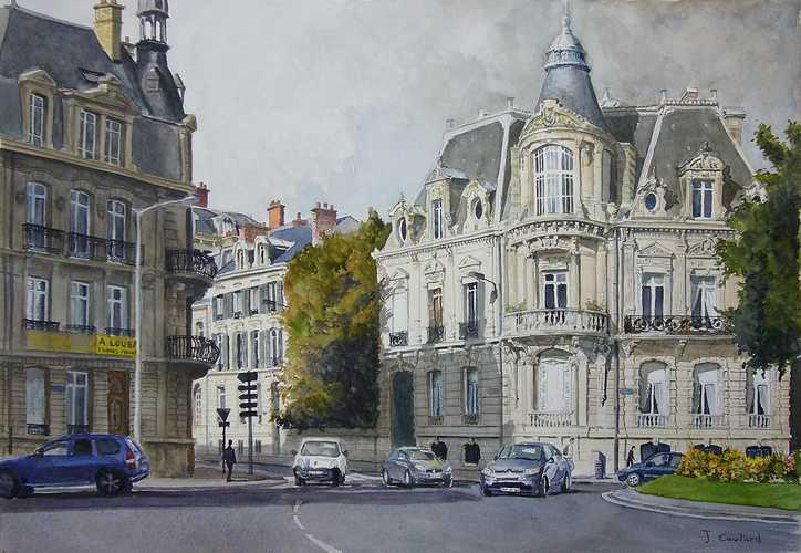 Reims, place Cérès 0