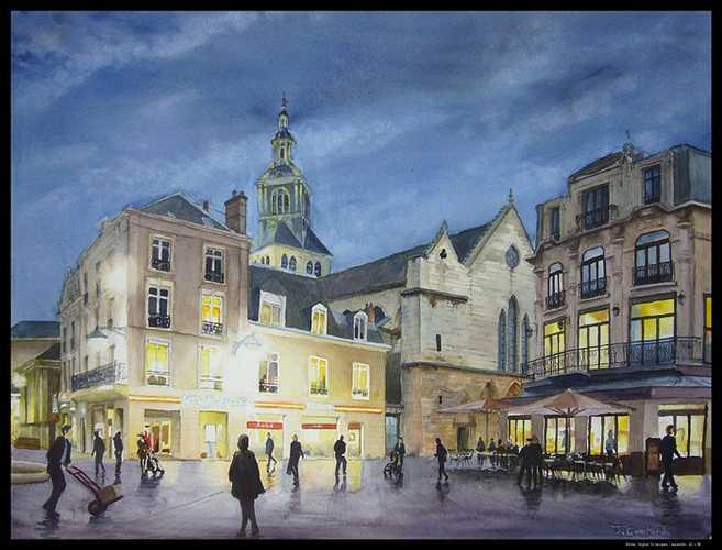 Reims, l'église St Jacques 0