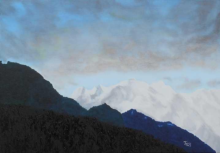 Le Mont-Blanc depuis Sallanches 0