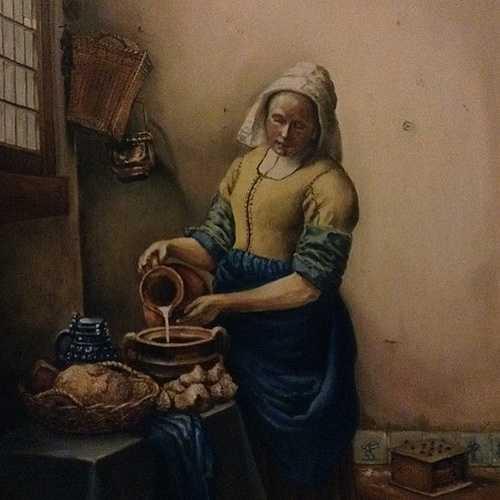 Milkmade Vermeer - copie 0