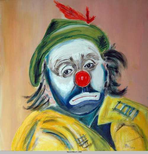 Clown triste 0
