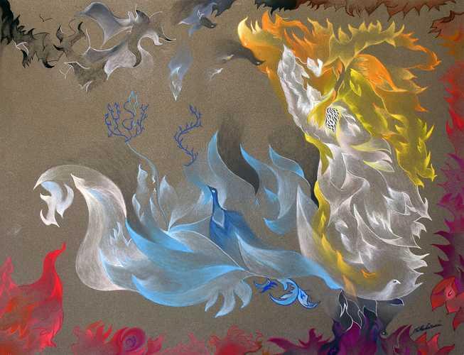 "· Título: ""Padre"" · Autor: Juan Cruz Matarin · Año: 2019 · Tipo de obra: pintura · Técnica: Lápiz Tiza Pastel en Papel Carta ""Sennelier"" · Dimensiones: 50 x 65 cm. 0"
