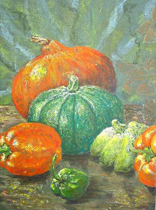 Kürbis und andere Herbstfrüchte 0