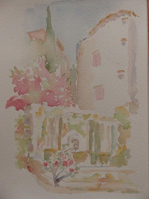 Fontaine de Réal . Barjols en Provence 0