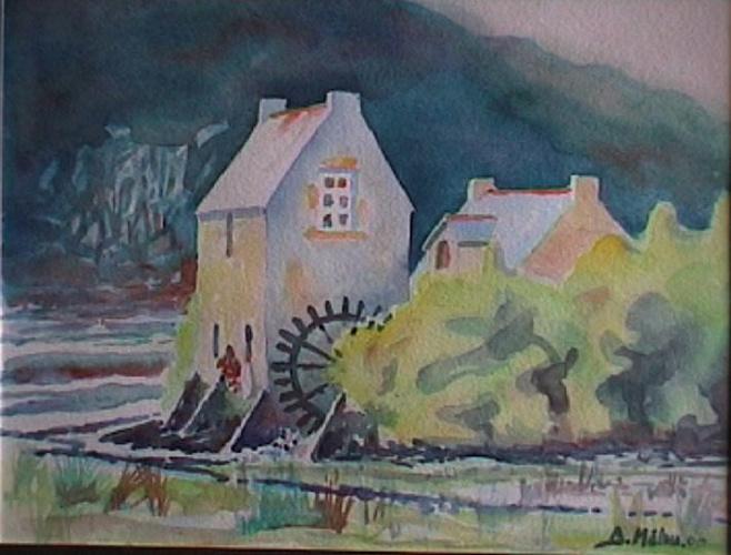 Le Moulin de la Demi-Ville, Ria d'Etel 0