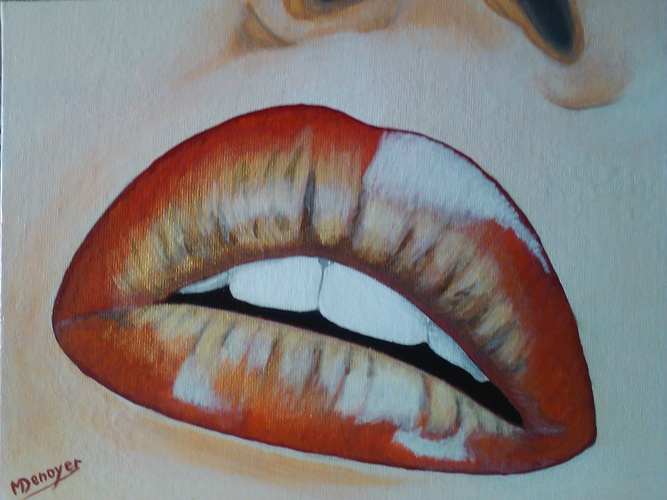les lèvres 0