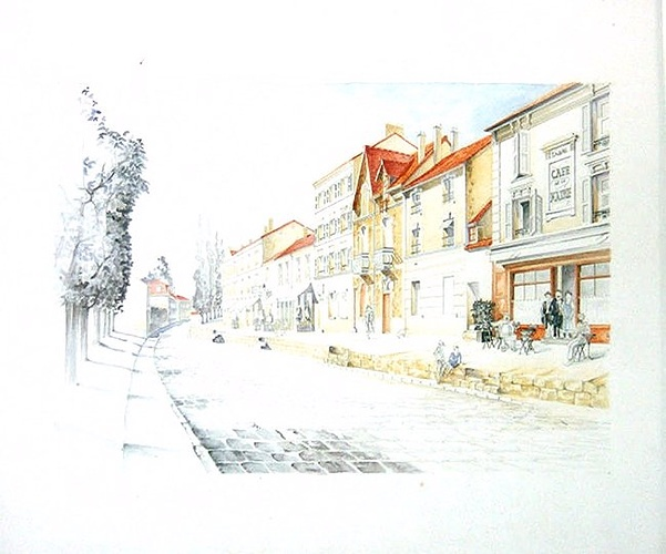Café de la Mairie de Bièvres (91) 0
