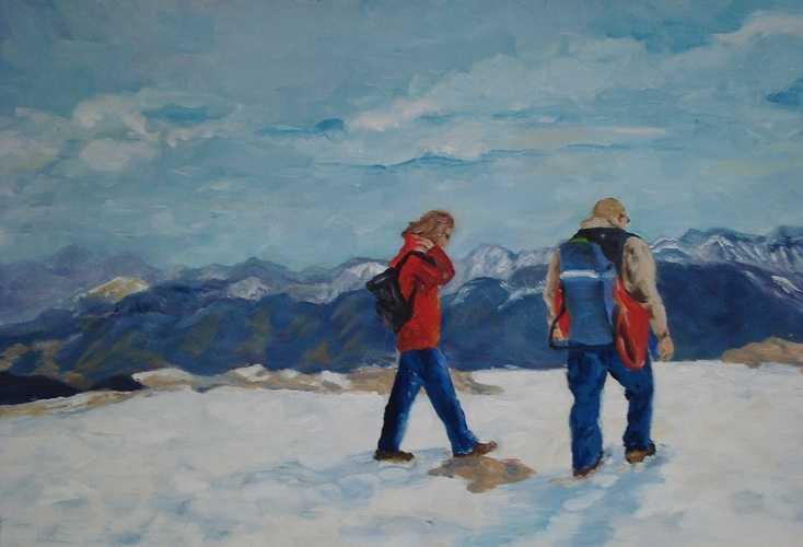 randonnée dans les Montagnes Rocheuses 0
