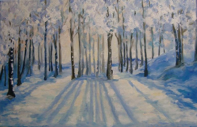 Sous la neige 0