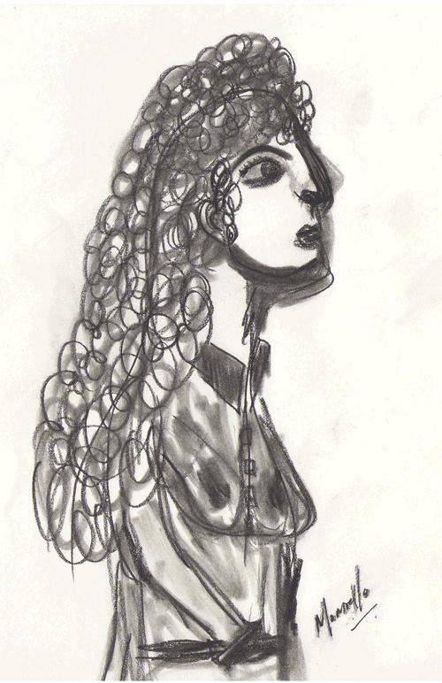 La Femme Avec Les Boucles 0