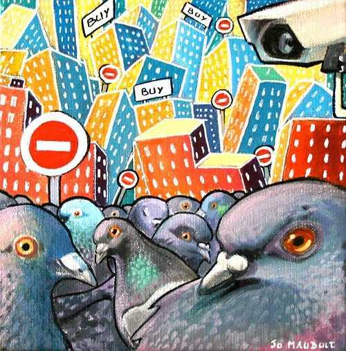 bande de pigeons 0