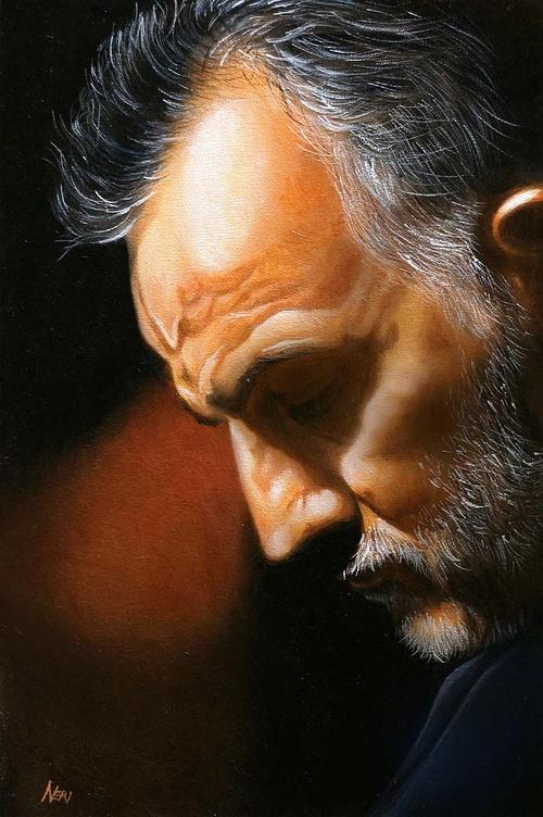 Ritratto di Mimmo tra luci ed ombre - Portrait de Mimmo entre ombre et de lumière 0