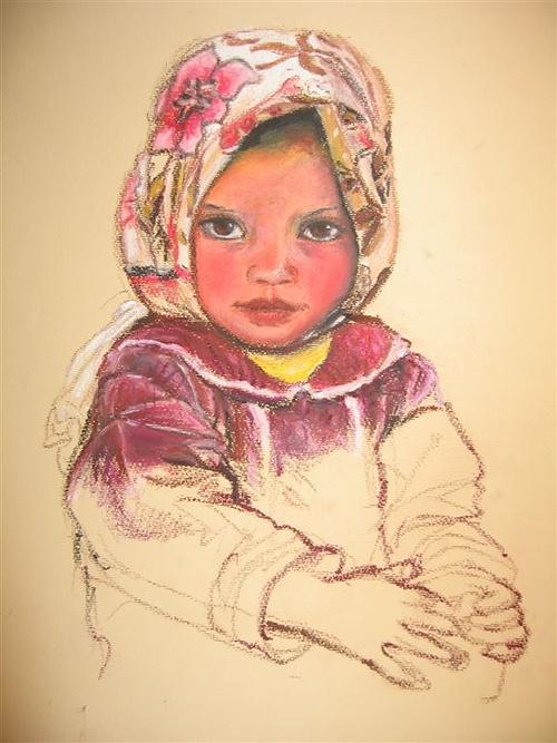 Petite fille berbère 0