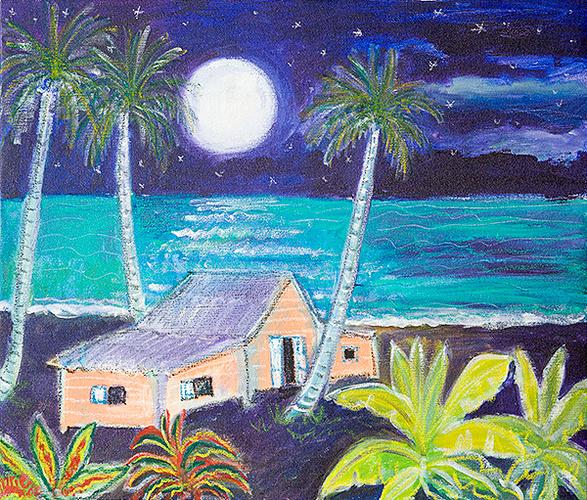 ''''white full moon'''' 0