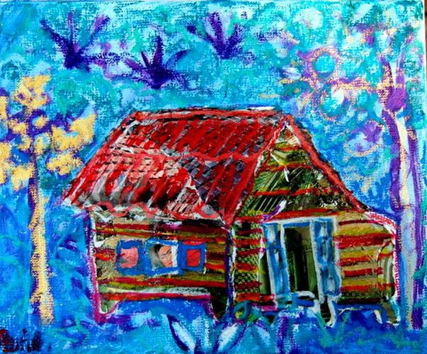 blue shack (Frida Kahlo) 0
