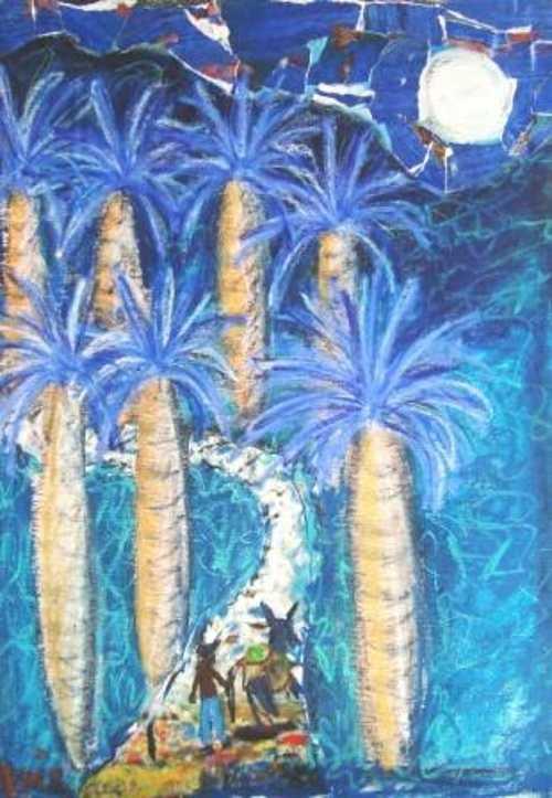 7 Royal palms 0