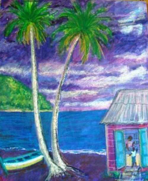 Purple seaside 0