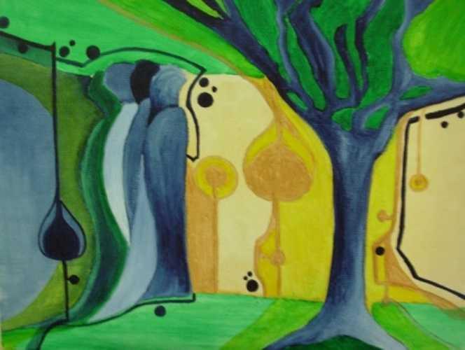 Forêt bleue 0