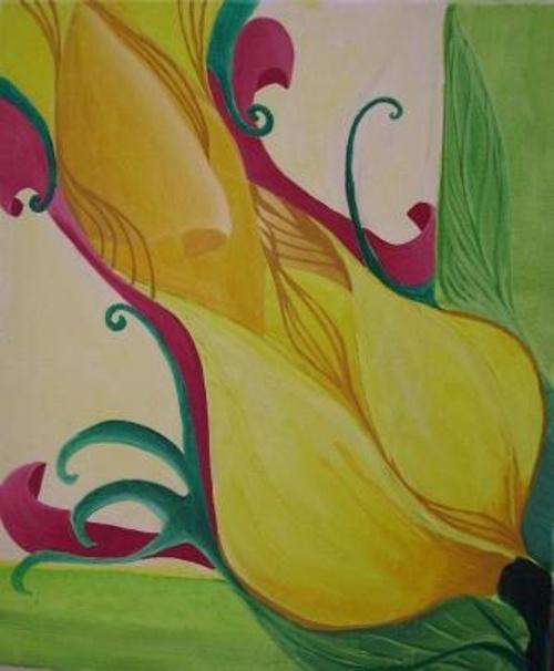 Fleur et pousse 0