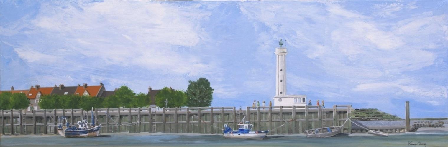 Le Port du Hourdel au jusant 0