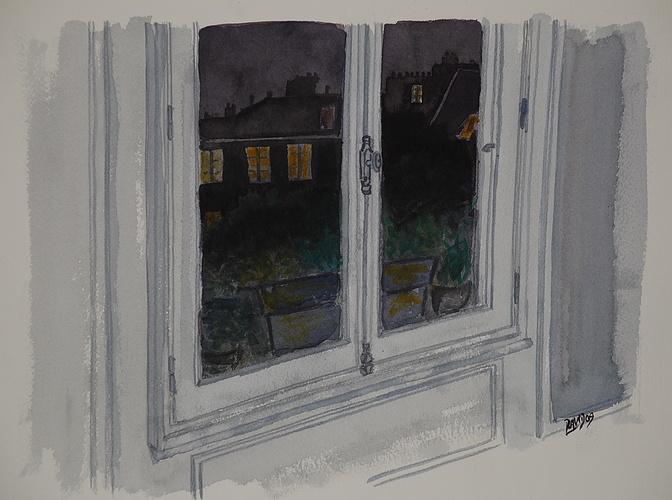Vue de la fenêtre 0