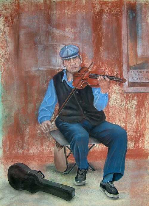 le violoniste 0